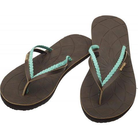 70a8dc20b96e Dark Brown SINNER Bagu Flip Flops