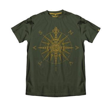 Dark Green Navitas Men's Direction T-Shirt