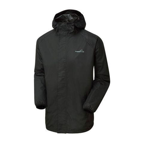 d6bac92a3034a JET BLACK FREEDOMTRAIL Men's Stowaway Waterproof Jacket ...