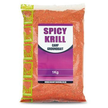 Orange R Hutchinson Spicy Krill Carp Groundbait 1Kg