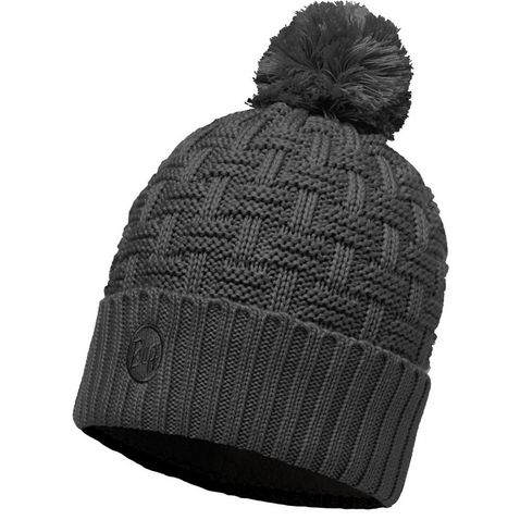 6c49a9afd49 AIRON GREY BUFF Airon Knitted   Polar Fleece Hat (Melange Grey). Quick buy