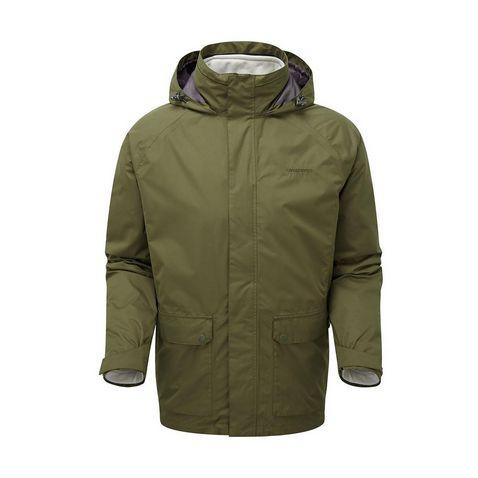 6204c272c DARK MOSS CRAGHOPPERS Men's Bertie 3-in-1 Jacket