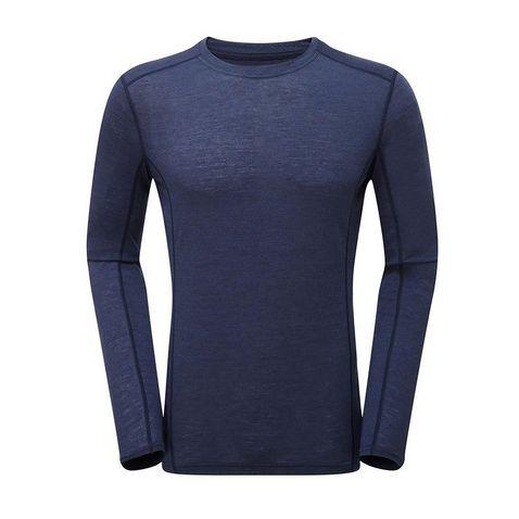ff9f2f0eb ARCTIC BLUE MONTANE Men's Primino 140 Long Sleeve T-Shirt