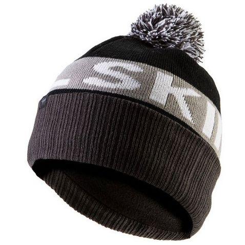 eb7d4ae2ba0ba Black-Grey SEALSKINZ Water Repellent Bobble Hat ...