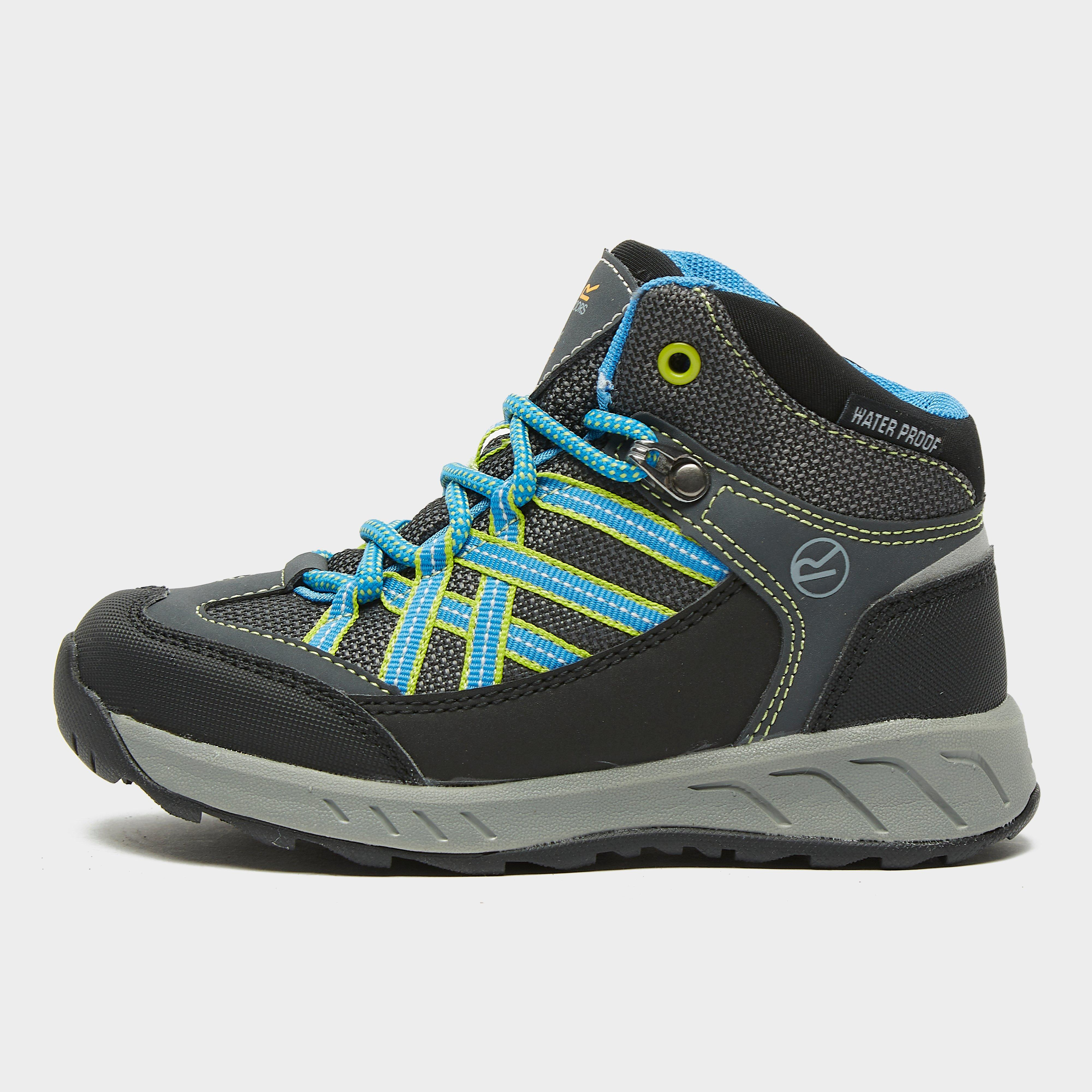 Kids Waterproof Breathable Walking Boots Regatta Holcombe IEP RKF573