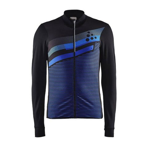 6dd8191a161aa Black-Blue CRAFT Men's Reel Thermal Jersey