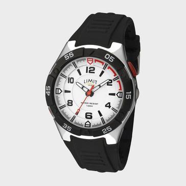 Black Limit Men's Active Analogue Watch