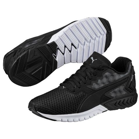 f3d24788e1fa Black Puma Men's IGNITE Dual Mesh Running Shoes ...