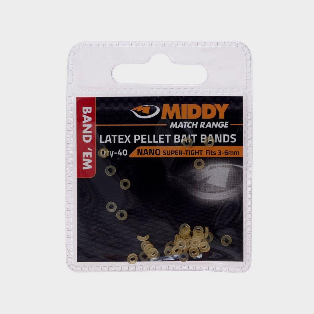 Yellow Middy Band Em Latex Bands Nano 3-6Mm image 1