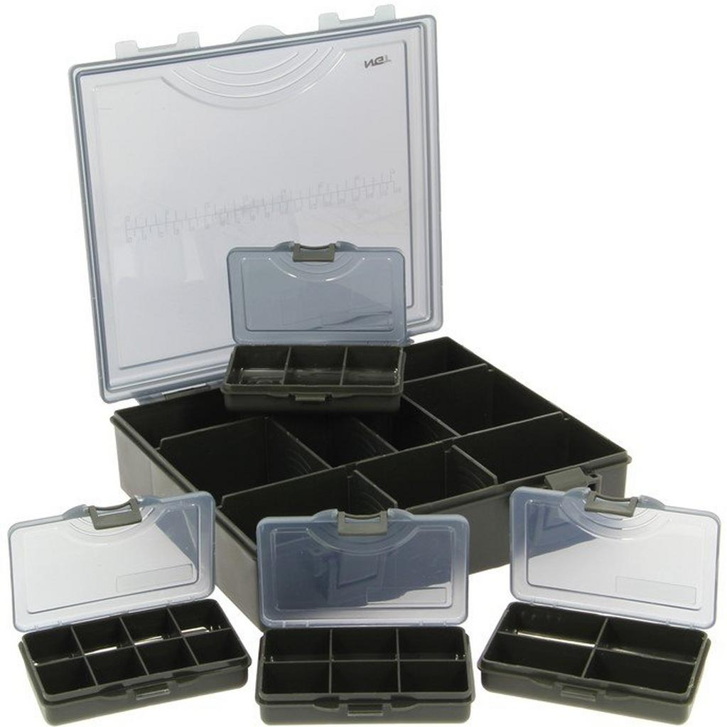 Multi NGT Deluxe Tackle Box & Four Boxes Small image 1