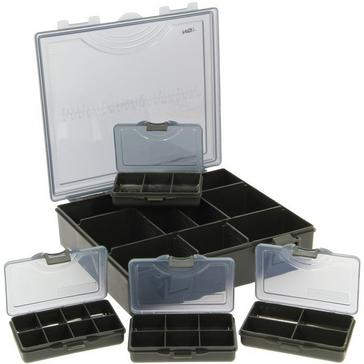 Multi NGT Deluxe Tackle Box & Four Boxes Small