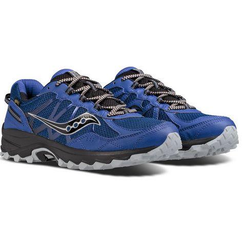 53b0afadb913e BLUE GREY Saucony Men's Excursion TR11 GTX Running Shoes ...