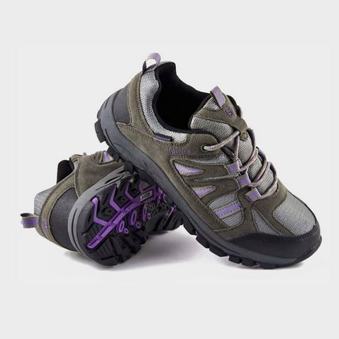 76466262f3c BLACKIRIS-BLUE HI-GEAR Winhill II Women's Walking Shoes ...