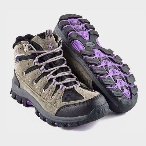 04afc7c1e847 GREY-PURPLE HI-GEAR Kinder II Women s Walking Boots ...