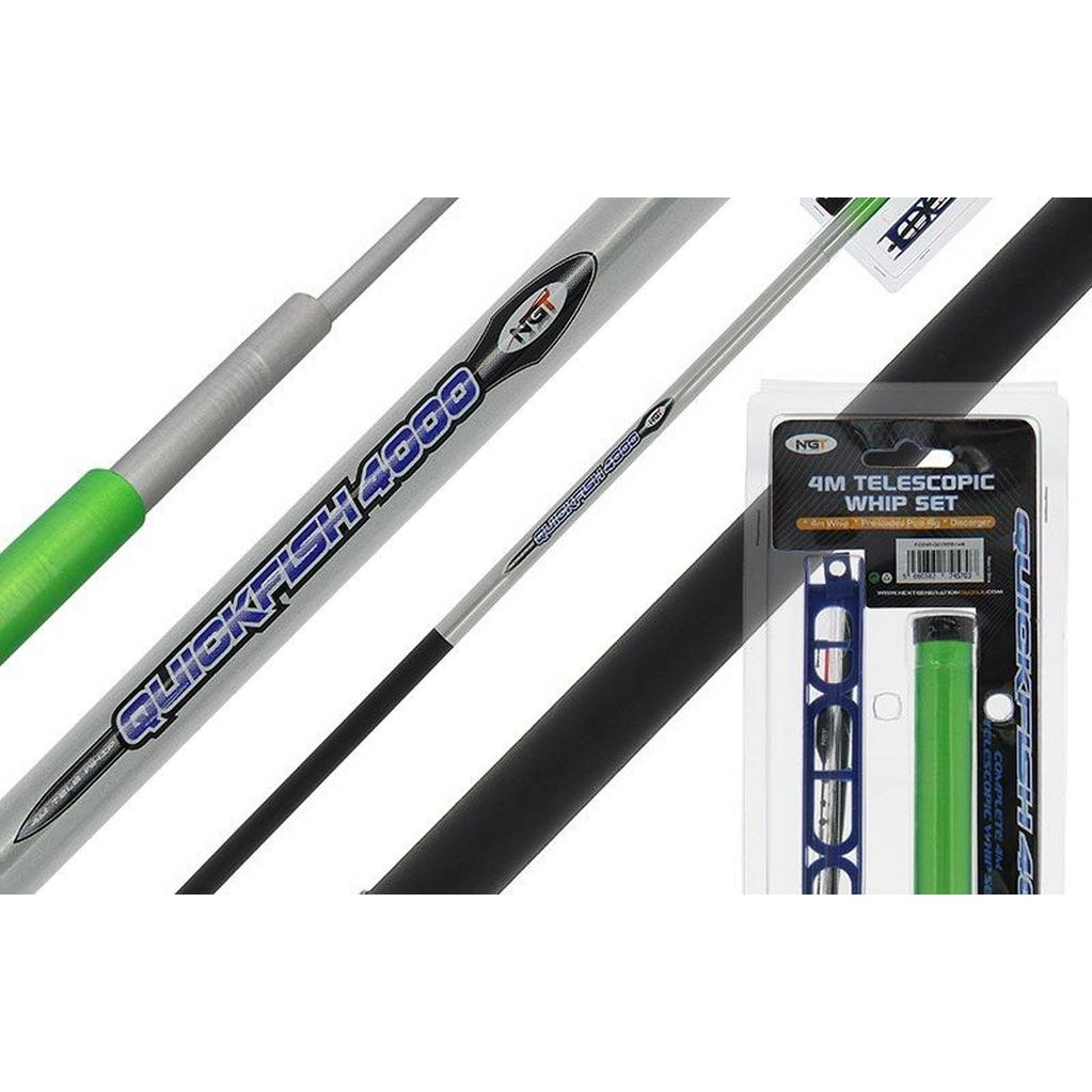 MULTI NGT Quickfish 4m Telescopic Whip Combo image 1