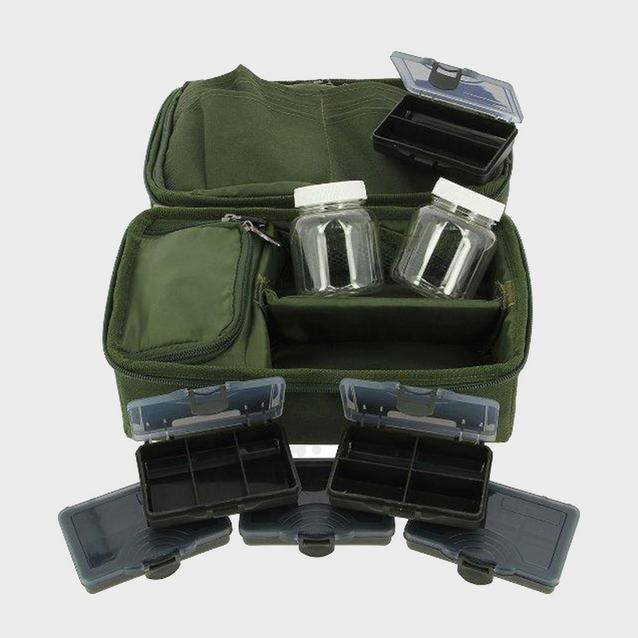 Green NGT Complete Rigid Carp Pouch image 1
