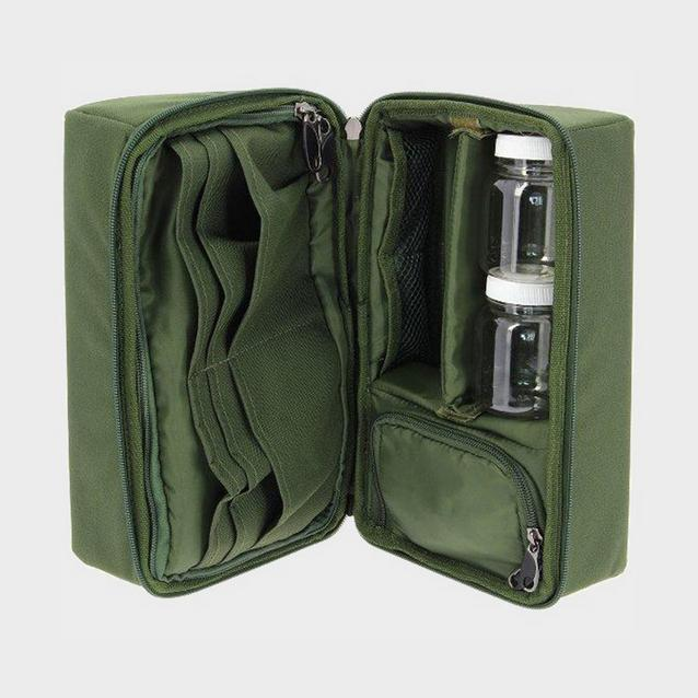 Green NGT Complete Rigid Carp Pouch image 4