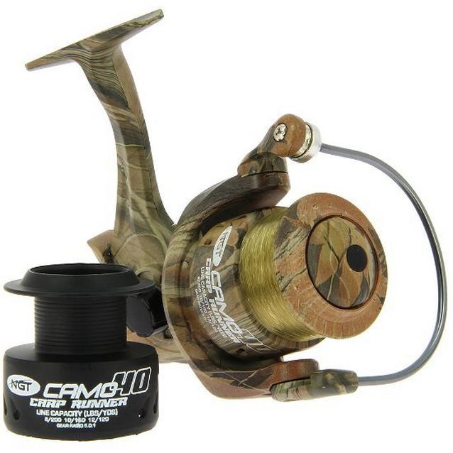 Camouflage NGT Camo 40 3Bb Reel Line Ss image 1