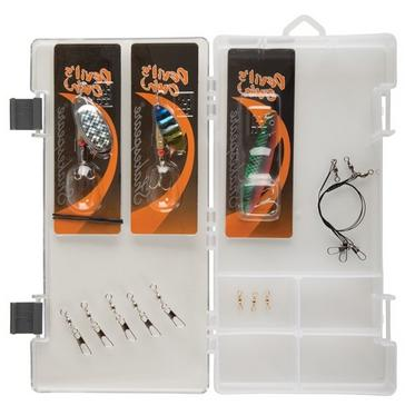 Grey Shakespeare Catch More Fish 2 Spin Kit (8ft)