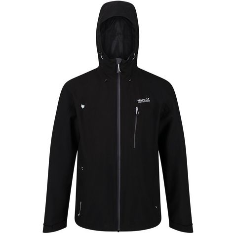 2dc2b887cb Black REGATTA Men's Birchdale Waterproof Jacket ...