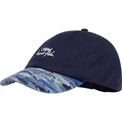 fff83f7b39cbd MARITIME BLUE WEIRD FISH Kids  Easton Print Hat