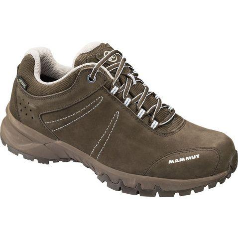2a91bc90ddf254 BARK-WHITE Mammut Nova III GTX Low Hiking Shoe