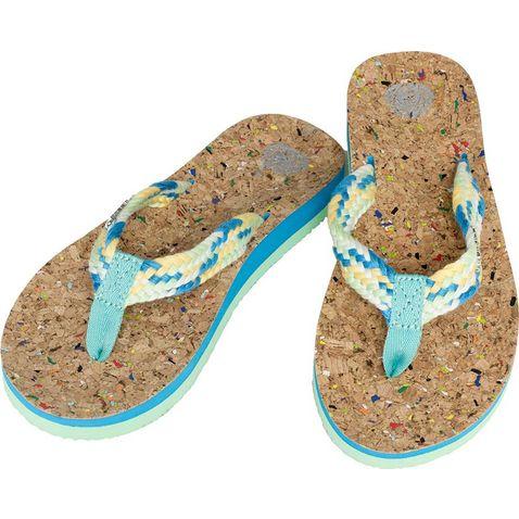 39a0f6831 CORK BLUE SINNER Carillo Women s Flip Flops