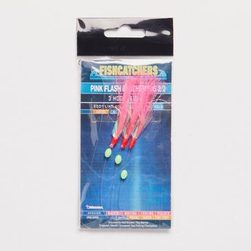 BlueZone PINK FLASH FEATHER RIG 2
