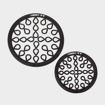 Black NASH Plastic Rig Rings Small 2.5mm