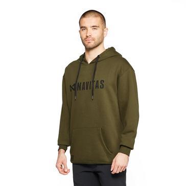 Dark Green Navitas Men's Core Hoodie