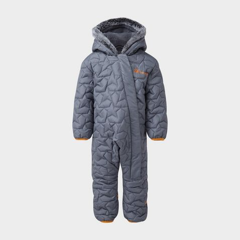 0d18f12ca FOLKSTONE GREY THE EDGE Children's Silver Star Snowsuit ...