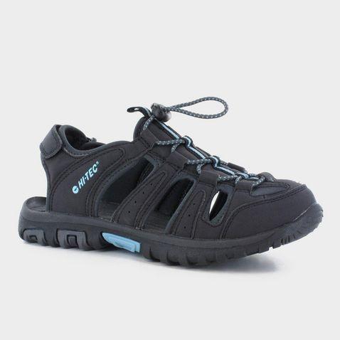 042061fecc89 BLACK-CHARCOAL HI TEC Cove Closed Toe Women s Walking Sandal