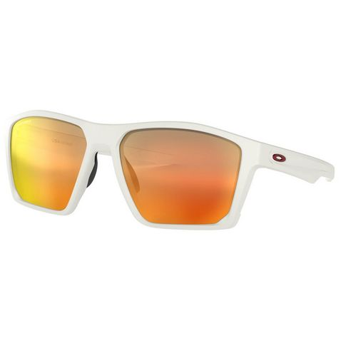 e3d64e7f66 WHITE-RUBY OAKLEY Targetline Sunglasses (Prizm Ruby Lens) ...
