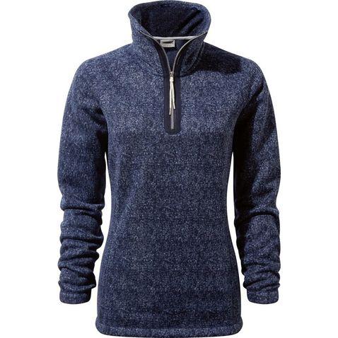 Craghoppers Kids Union Half Zip Fleece Jacket-Dark Navy//Cobalt Size 5-6