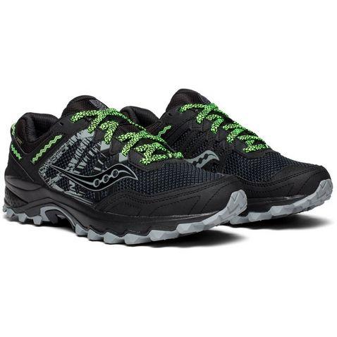 ebaccff9d3bd Black Saucony Men s Excursion TR12 GTX Running Shoes ...