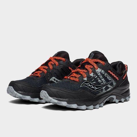 4bf6b072c928 Black Saucony Women's Excursion TR12 GTX Running Shoes ...