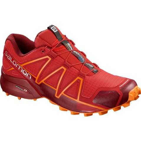 ae44569d48f HIGH RISK RED Salomon Men s Speedcross 4 Running Shoes