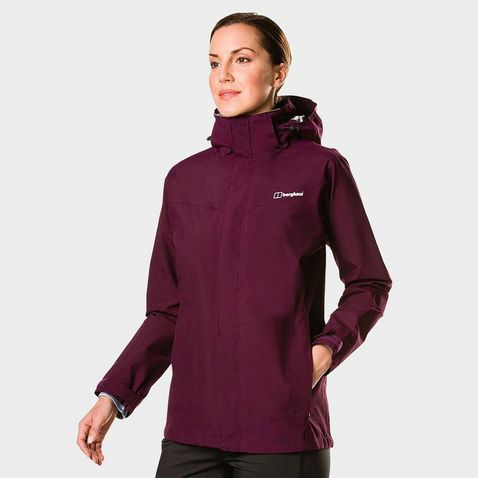 4ae4bcdce3a Purple Berghaus Women s Hillwalker Long IA Waterproof Jacket ...