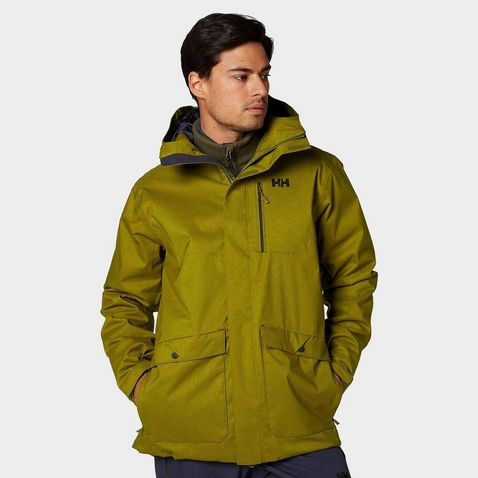 3b4a1fd65 FIR GREEN Helly Hansen Men's Park City Ski Jacket ...