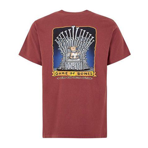 1ba5cea5 Oxblood WEIRD FISH Men's 'Game of Bones' Artist T-Shirt ...