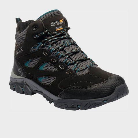 02c1049eb7b8a BLACK-DEEP LAKE REGATTA Women's Holcombe IEP Mid Walking Boots