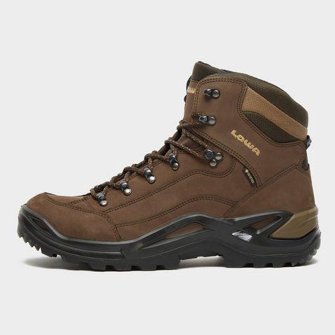 9ed2d4ae ESPRESSO-BROWN LOWA Men's Renegade GTX Mid Walking Boots ...