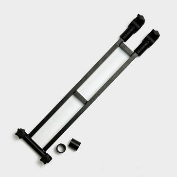 Black Westlake Extra-Long Dual Umbrella Bracket