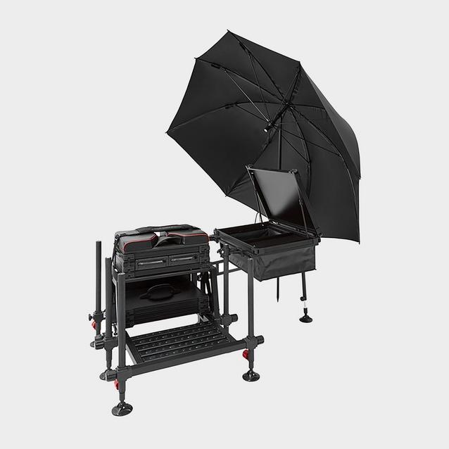 Black Westlake Seat Box Feeder Brolly image 2