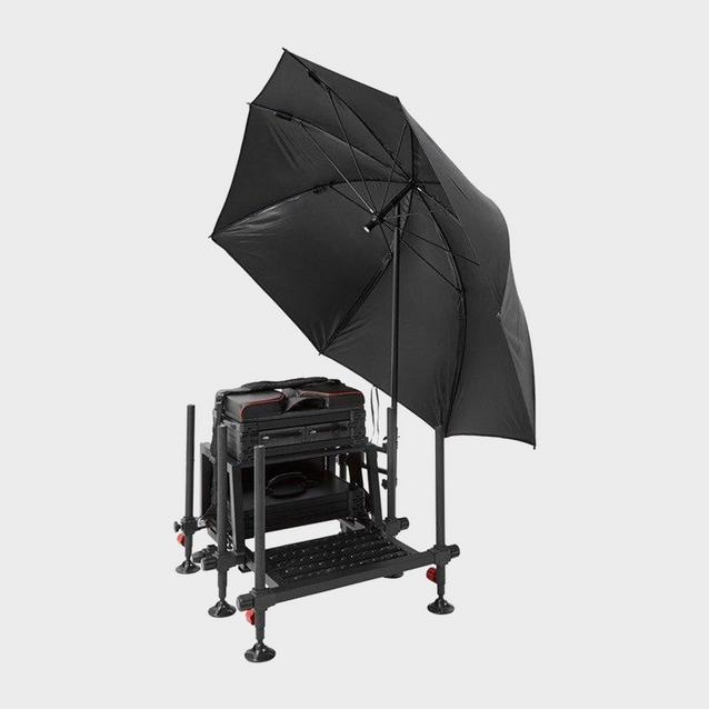 Black Westlake Seat Box Feeder Brolly image 3