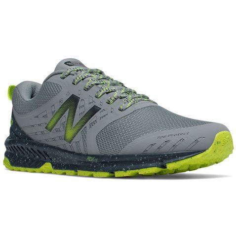 fcb03230393b7 Grey New Balance Men's FuelCore Nitrel Trail Running Shoes ...