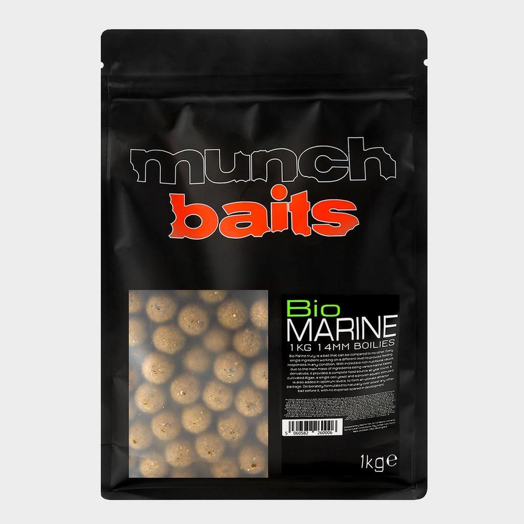 Brown Munch Baits Bio Marine Boilies 14mm 1kg image 1