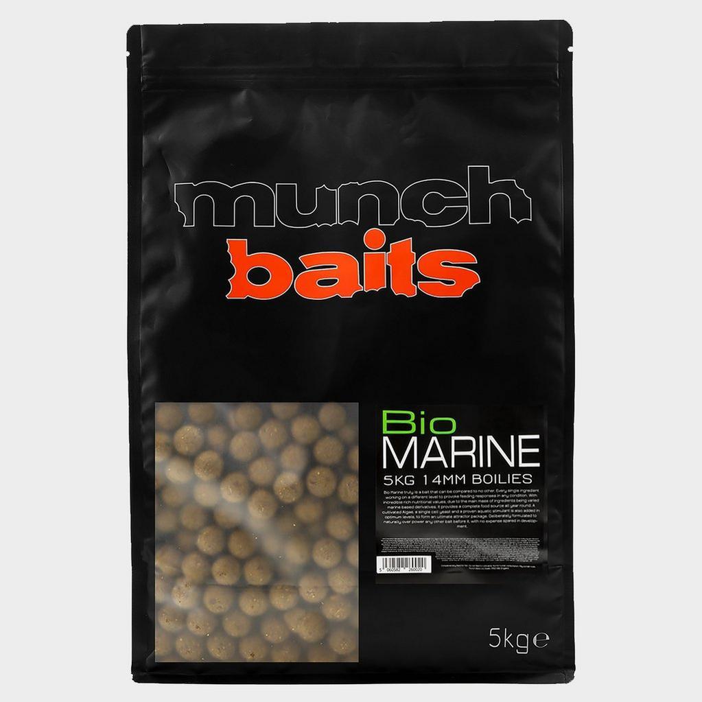 Brown Munch Baits Bio Marine Boilies 14mm 5kg image 1