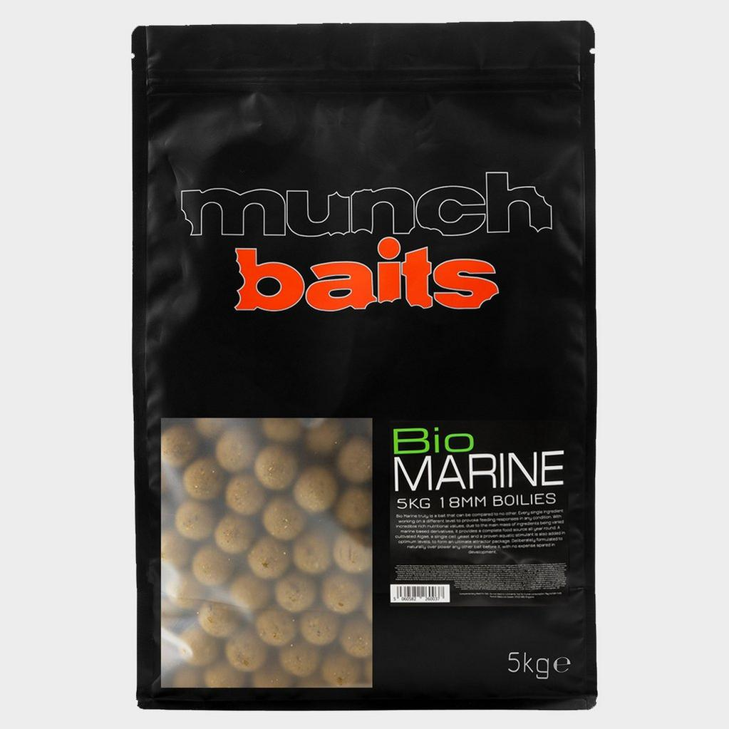 Brown Munch Baits Bio Marine Boilies 18mm 5kg image 1