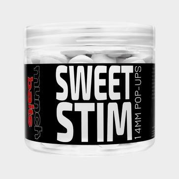 White Munch Baits Sweet Stim Pop Ups 14mm